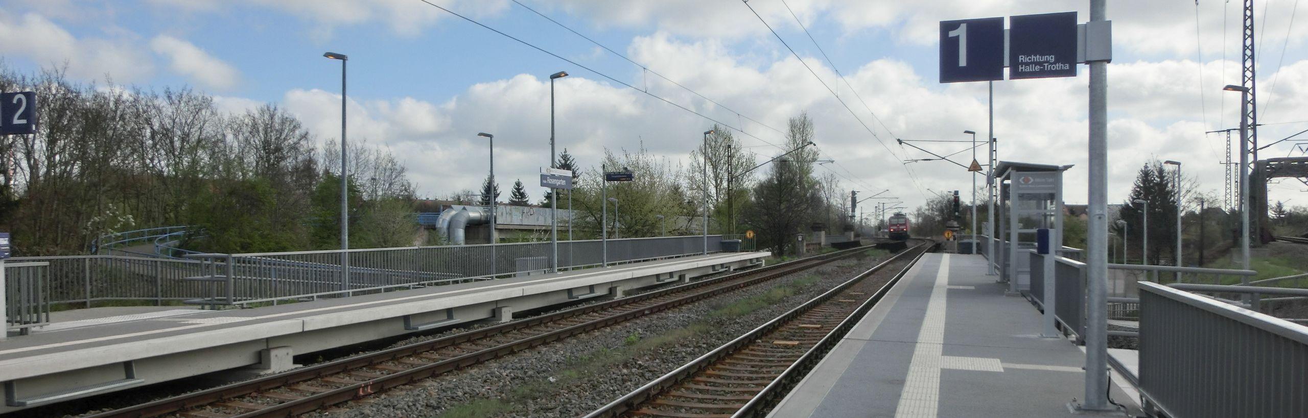 Haltepunkte und Bahnhöfe