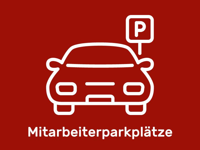Mitarbeiterparkplätze